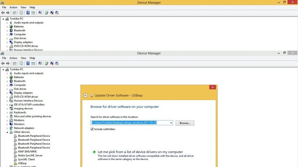 How to install Usbasp Driver in Windows 8.1 and Windows 10 usbasp 8 screen of driver installation of usb asp how to install usbasp driver in windows How to install Usbasp Driver in Windows 8.1 and Windows 10 How to install Usbasp Driver in Windows 8